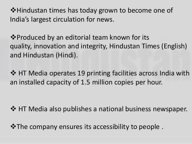 Hindustan times Slide 3