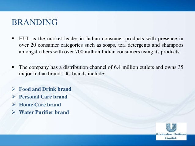 Hindustan unilever distribution channel