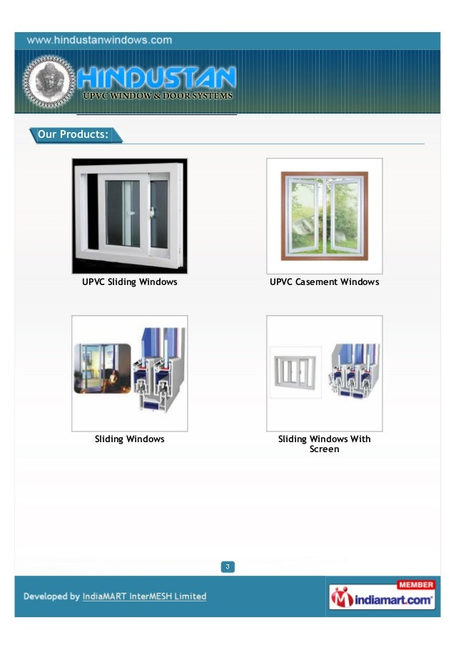 Our Products:        UPVC Sliding Windows   UPVC Casement Windows          Sliding Windows       Sliding Windows With     ...