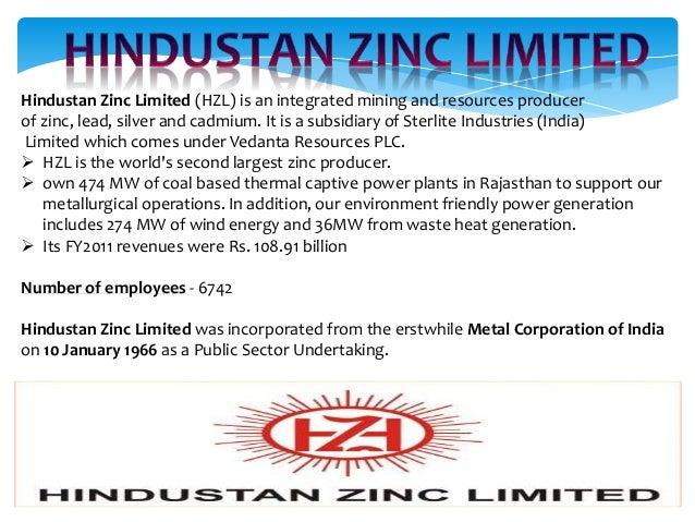 quality circle activities at hindustan zinc lilmited Sehen sie sich das profil von mahesh bansal auf linkedin an  dariba smeting complex,hindustan zinc limited, chanderia lead zinc smelter,hindustan zinc limited.