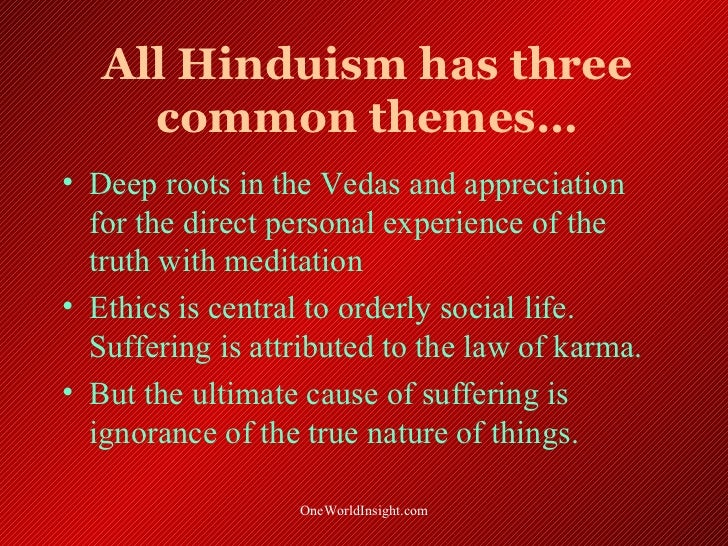 Hindu Teachings