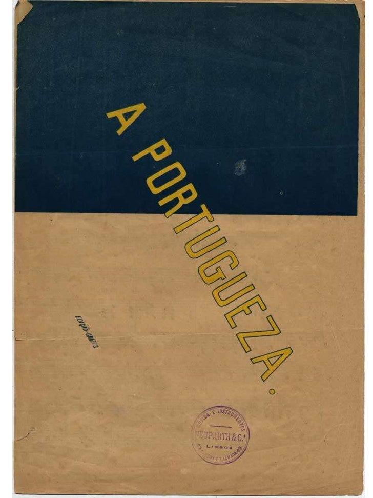 "Hino ""A Portuguesa"" de Alfred Keil"