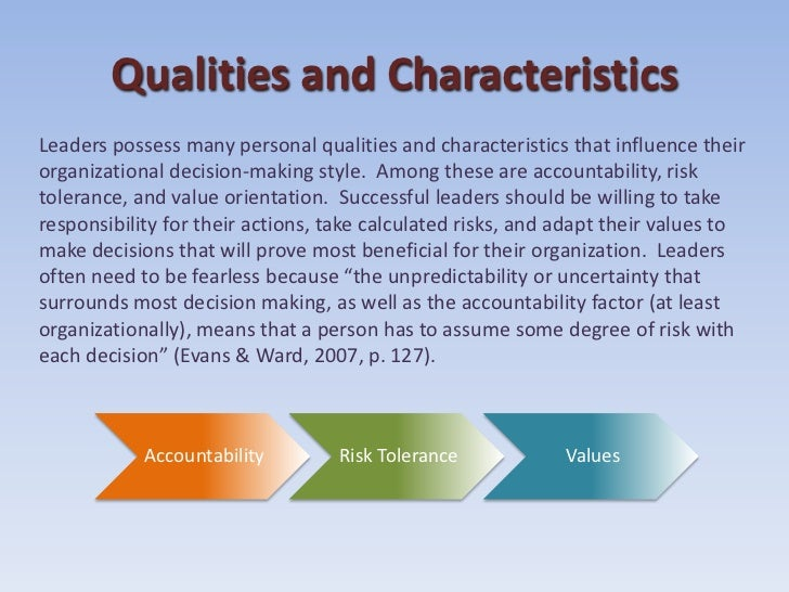 what are the most important qualities of a leader essay O how would you describe a leader o what are important qualities or characteristics of leaders plagiarism free papers and confidentiality guarantees.