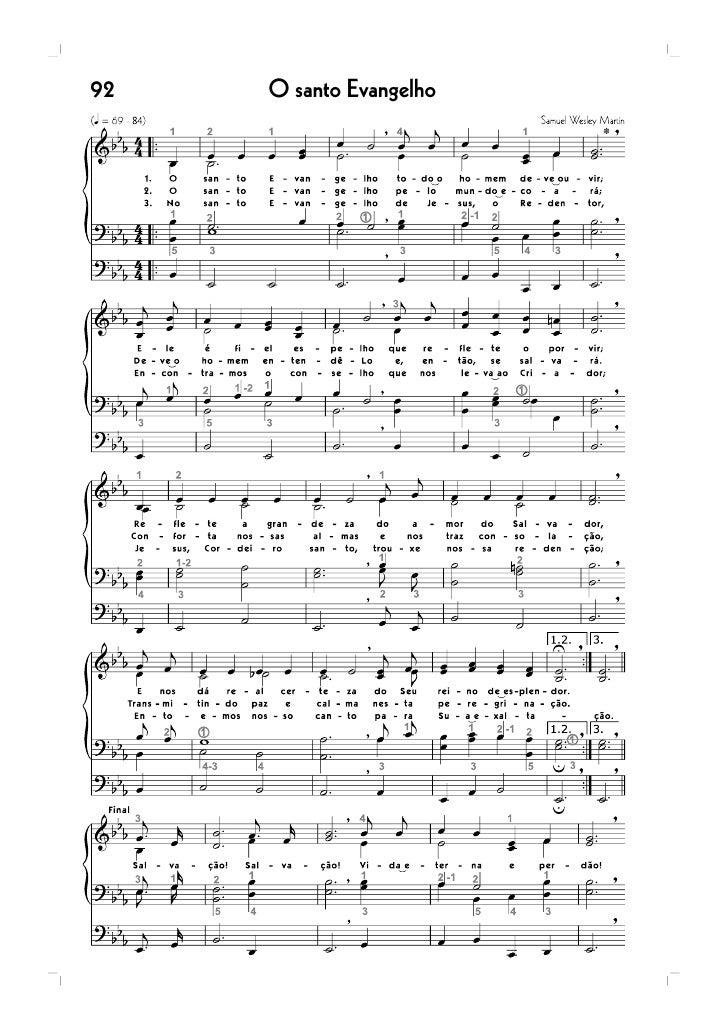 102   Sinto a voz divina do meu fiel Pastor