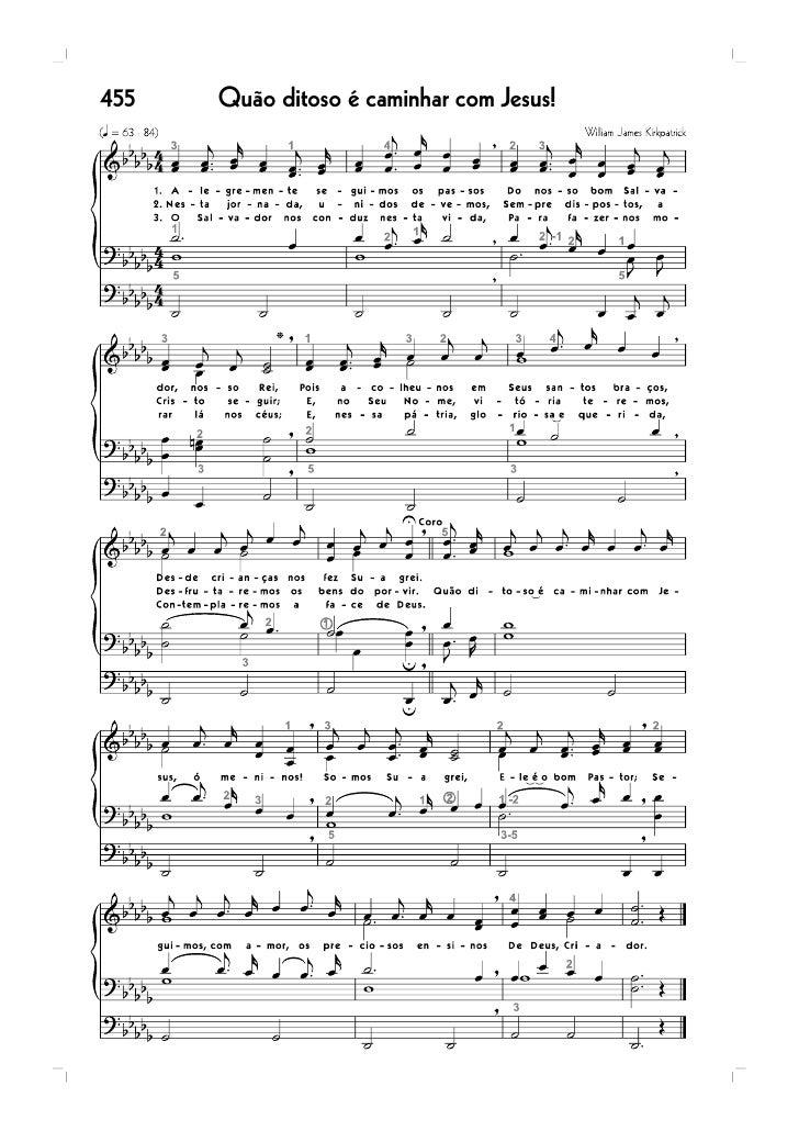 68   Sem tardar, vai a Cristo                       47   Sublime é o perdão!   73   Semearei, semearei                    ...