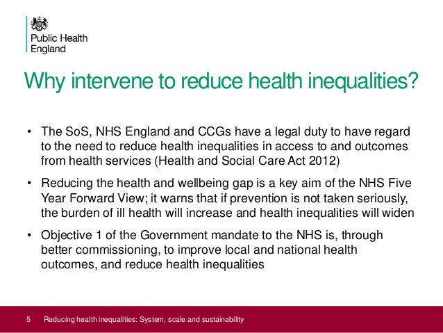 reducing inequalities in healthcare 3 questions d'économie de la santé n°179 - september 2012 in what way can primary care contribute to reducing health inequalities as they are more equitable in terms of access to healthcare and more cost.