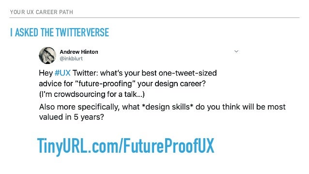 Your UX Career Path Slide 3
