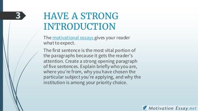 motivation psychology essay