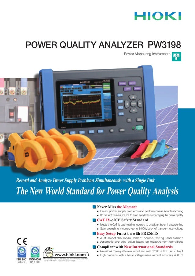 Hioki pw3198 power_quality_analyzer_datasheet