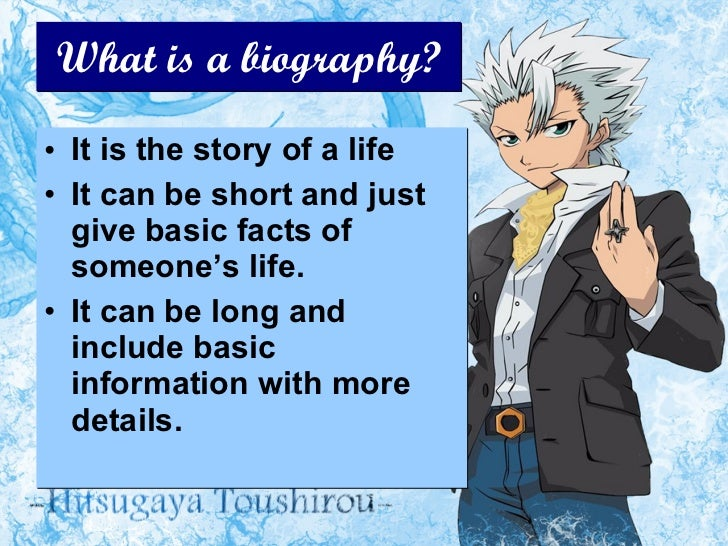 what is autobiography in literature