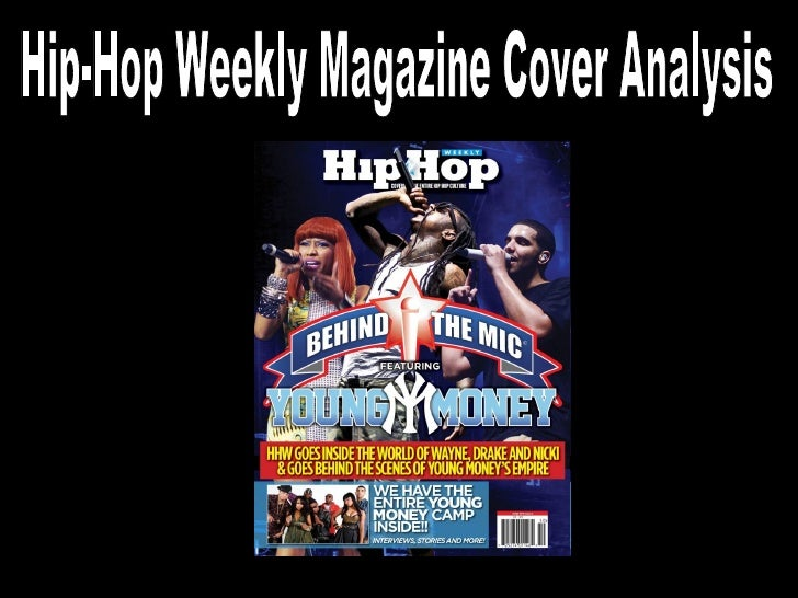 Hip-Hop Weekly Magazine Cover Analysis