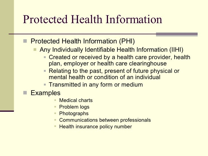 hipaa-5-728 Visual Protected Health Information Examples on information technology examples, protected patient information clip art, target market examples,