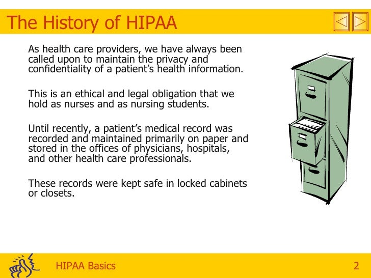 Confidentiality of health information term papers
