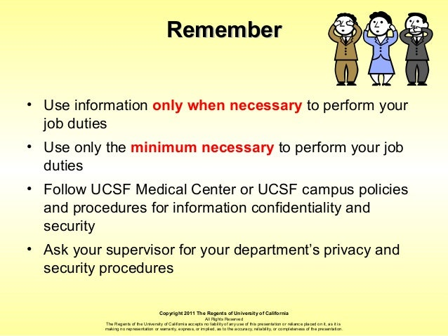 HIPAA 101 Privacy and Security Training by University of
