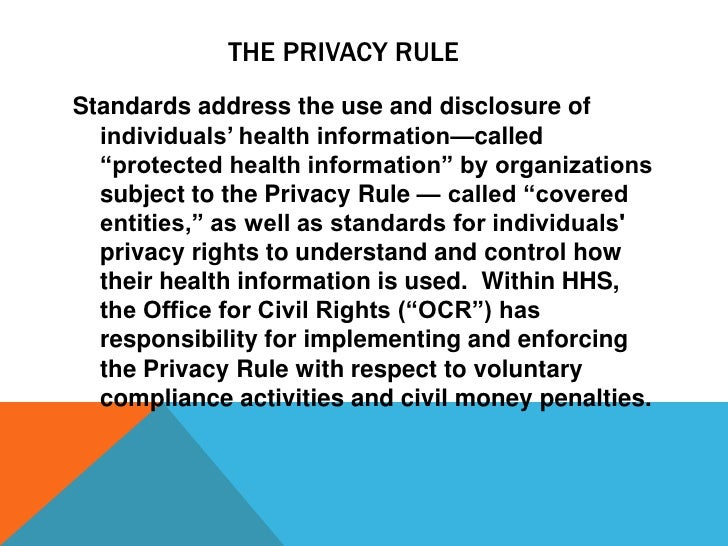 Medical Records Privacy Accuracy And Patients Rights