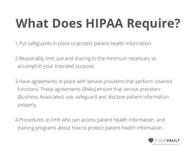 HIPAA Compliance for Developers on hipaa activities, osha medical forms, ada medical forms, cobra medical forms, insurance medical forms, billing medical forms,