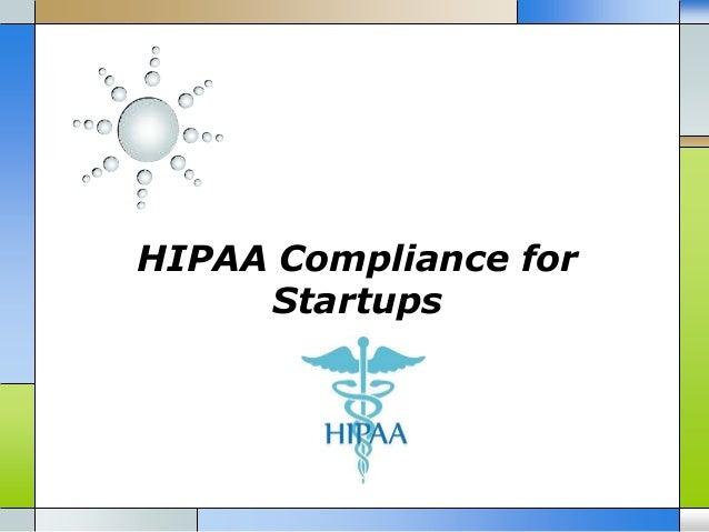 HIPAA Compliance for Startups