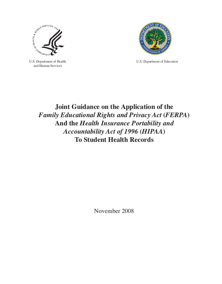 U.S. Department of Health                   U.S. Department of Education  and Human Services           Joint Guidance on t...