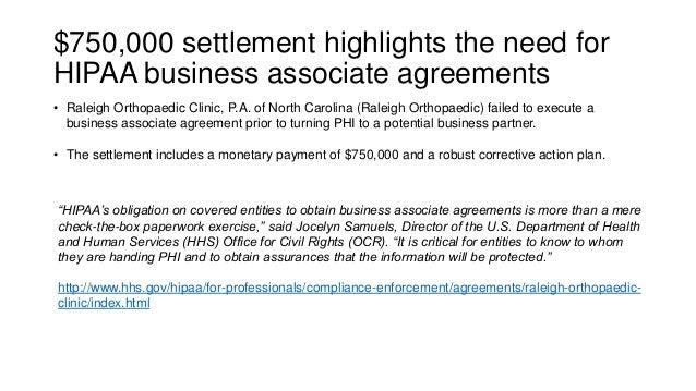 Hipaa for business associates   simple Slide 3