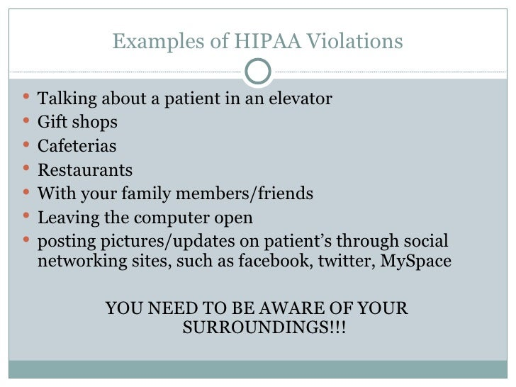 hipaa overview2011 student orientation