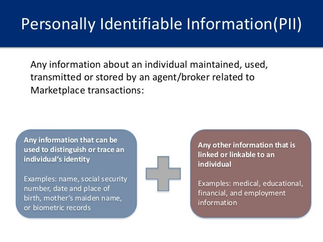 personal identifiable information on the internet Protecting personally identifiable information on the internet: notice and consent in the age of behavioral targeting andrew hotalingt you already have zero privacy.
