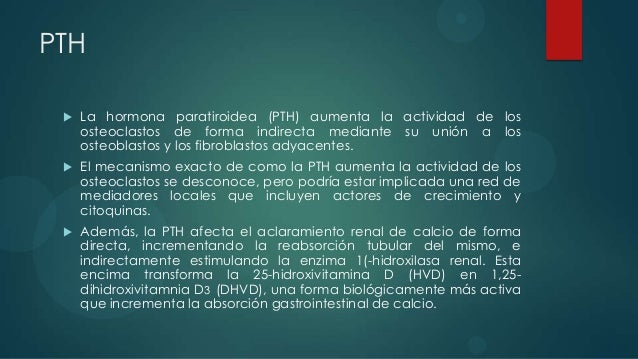 PTHrP    El péptido relacionado con la hormona paratiroidea (PTHrP), con     una estructura aminoácida similar a la PTH, ...