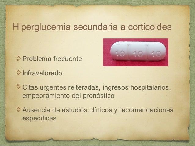 Manejo de la Hiperglucemia Inducida por Corticoides