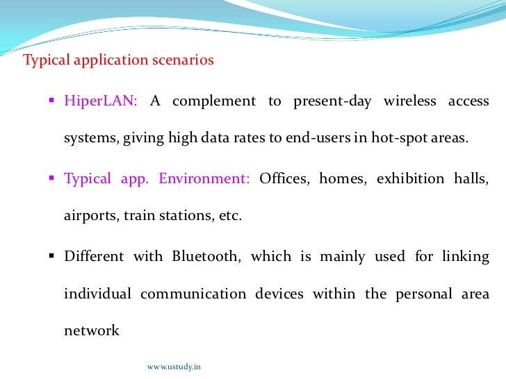 <ul><li>Two main standards families for Wireless Lan: