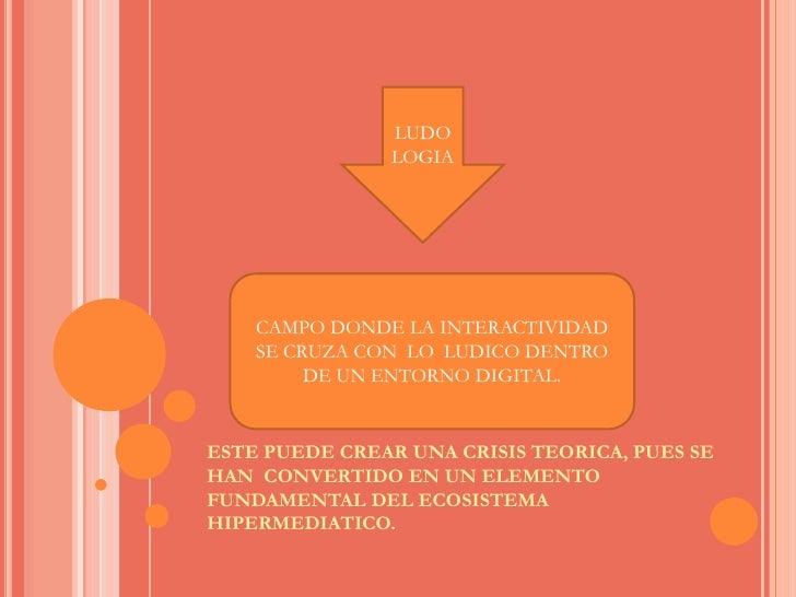 ESTE PUEDE CREAR UNA CRISIS TEORICA, PUES SE HAN  CONVERTIDO EN UN ELEMENTO FUNDAMENTAL DEL ECOSISTEMA HIPERMEDIATICO.<br ...