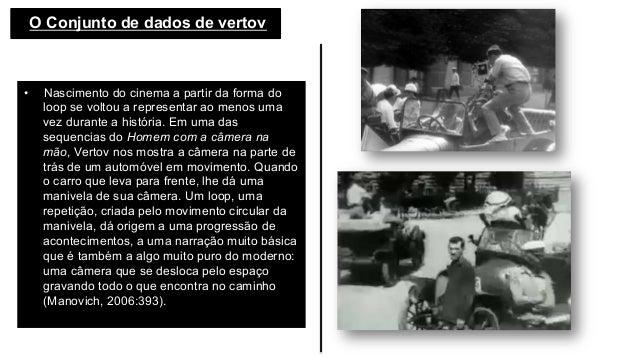O Conjunto de dados de vertov  • Nascimento do cinema a partir da forma do loop se voltou a representar ao menos uma ve...