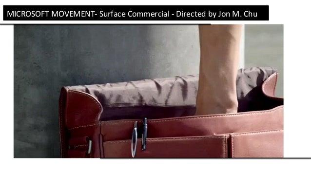 MEMÓRIA MICROSOFTMOVEMENT-SurfaceCommercial-DirectedbyJonM.Chu