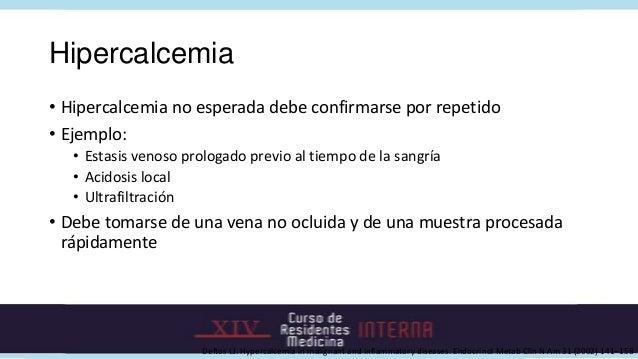 Hiperparatiroidismo primario asintomático• Sin síntomas• Síntomas mínimos (fatigabilidad, debilidad, depresión• Niveles de...