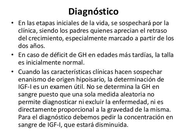 • La causa más común de la secreción excesiva  de la hormona del crecimiento es un tumor no  canceroso (benigno) de la hip...