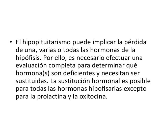 Cuales son las causas del           hipopituitarismo?Existen numerosas causas de hipopituitarismo. La causa más frecuente ...