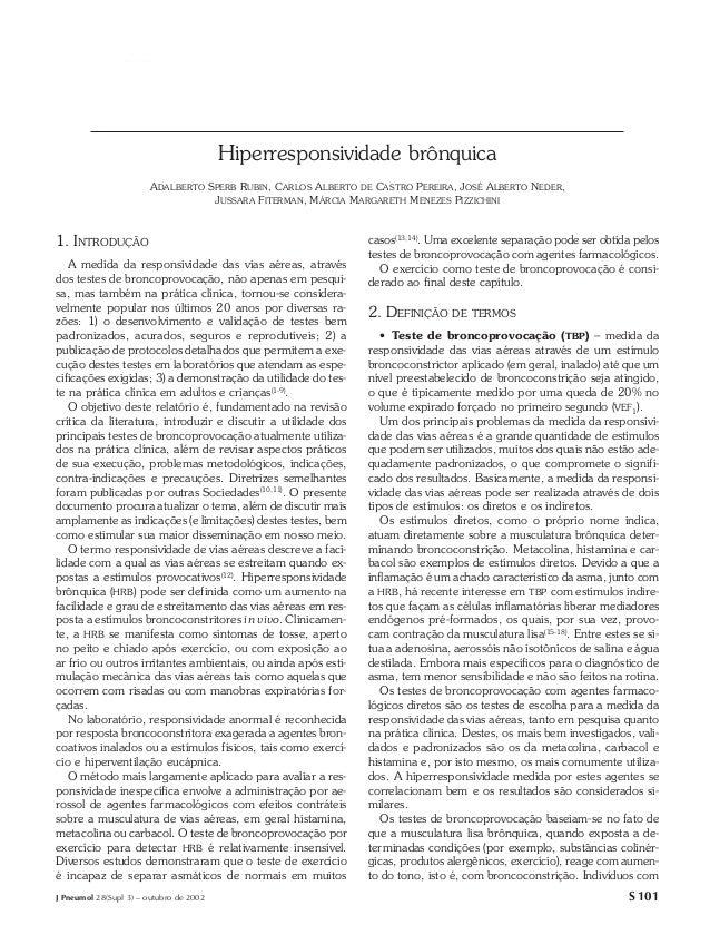 Hiperresponsividade brônquica                                         Hiperresponsividade brônquica                       ...