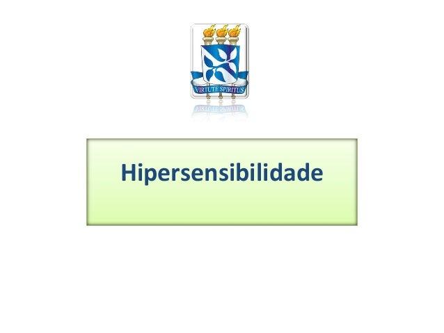 Hipersensibilidade