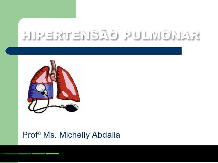 Profª Ms. Michelly Abdalla