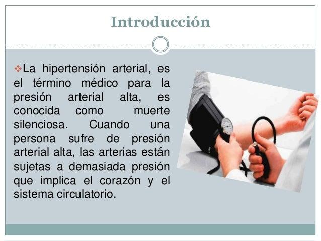 Hipertensión arterial  Descripción general