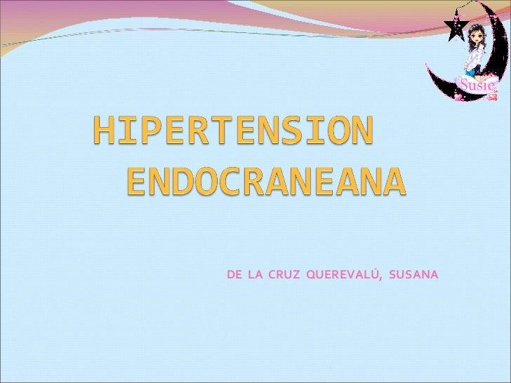 Hipertension Endocraneana