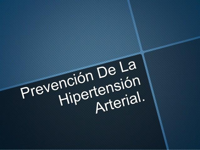 Tipo de Hipertensión definicion
