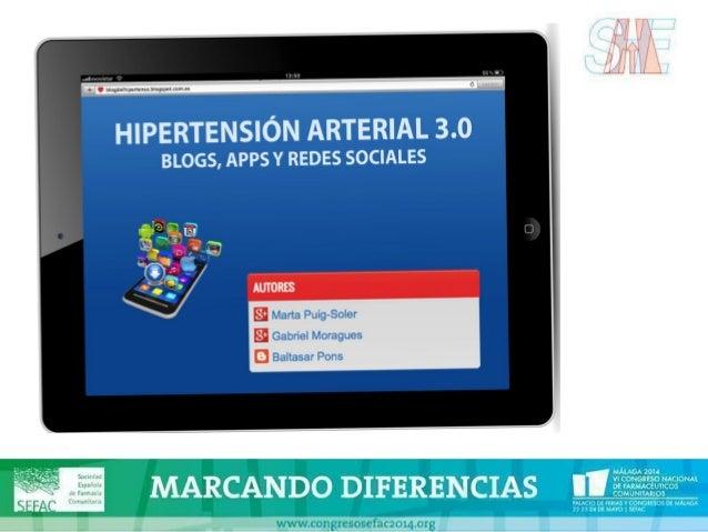 Hipertensión arterial 3.0 Dra. Marta Puig Soler Especialista en Medicina Familiar y Comunitaria CAPSBE Casanova (Barcelona...