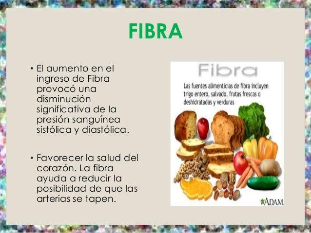 Dietoterapia hipertension arterial - Alimentos que tienen fibra ...