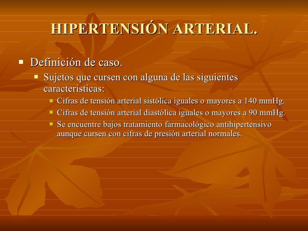 Hipertension arterial sistemica.(1)