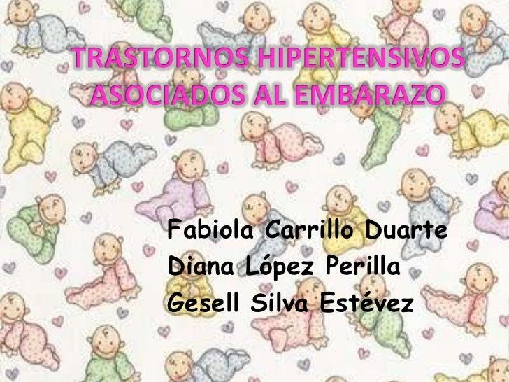 Fabiola Carrillo DuarteDiana López PerillaGesell Silva Estévez