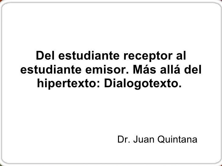 Hipertexto dialogotexto