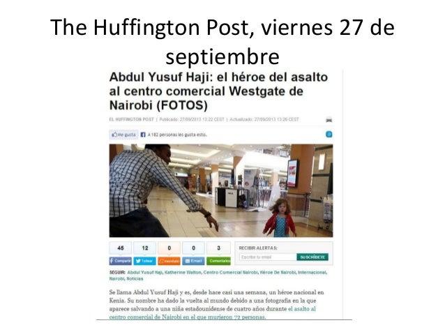 The Huffington Post, viernes 27 de septiembre