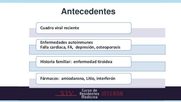 Examen físico    Agitación                 Logorrea                             Taquicardia, HTA                          ...