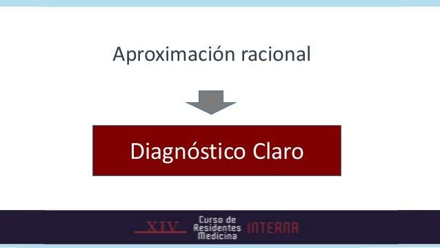 Aproximación racional Diagnóstico Claro