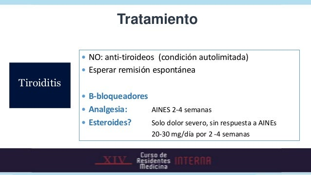 TratamientoGraves                                                   ANTITIROIDEOSBocio multinodular                       ...