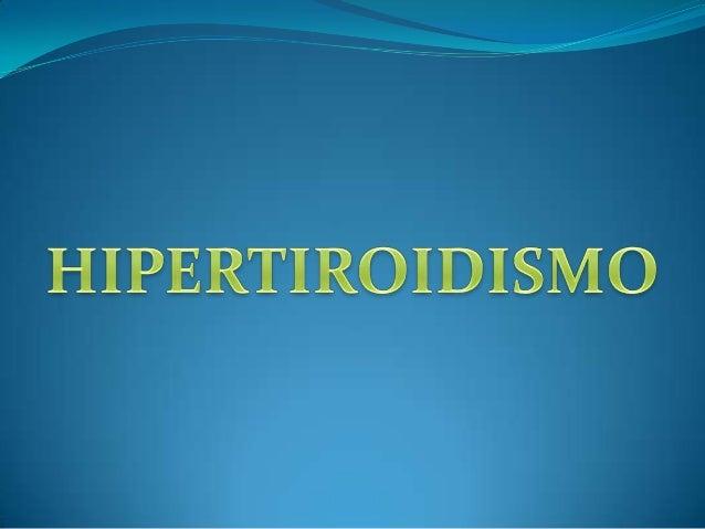 HipertiroidismoEs una afección en lacual la glándula tiroidesproduce demasiadahormona tiroidea. Laafección a menudo sedeno...